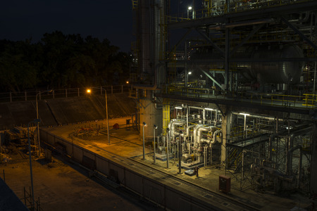 Oil and Gas industrial refinery plant