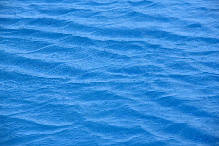 Beautiful ripple texture of sea