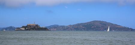 Alcatraz jail in Sanfrancisco bay