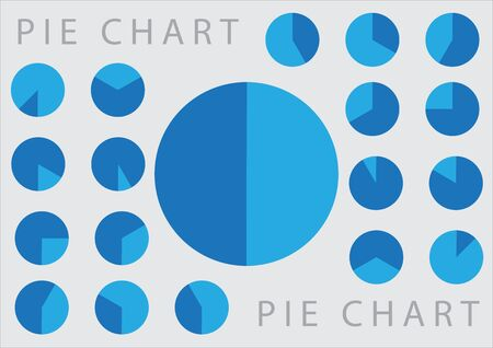 Visualization pie chart dashboard design for dashboard  and infographic presentation