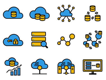 Big data cloud database technology, Data driven economy, Data analytic connection platform, connect the dot