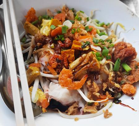 Thai Food Good Taste Stock Photo