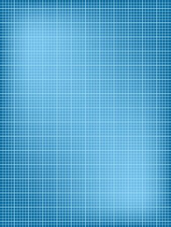 blue white: Blueprint illustration, background texture. Blank sheet