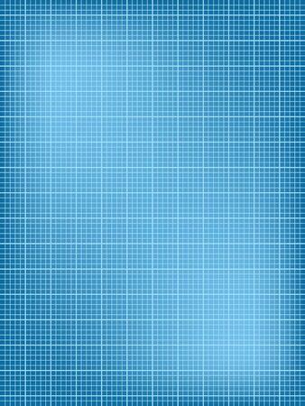 Blueprint illustration, texture de fond. Feuille blanche
