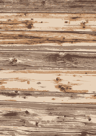 Old wood texture background. light wood. Vector illustration