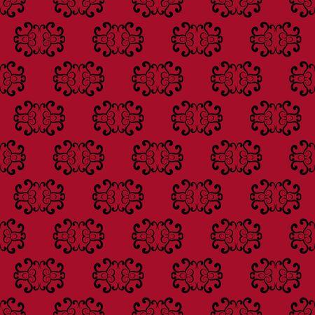 Red Seamless Pattern background. Stock Illustratie