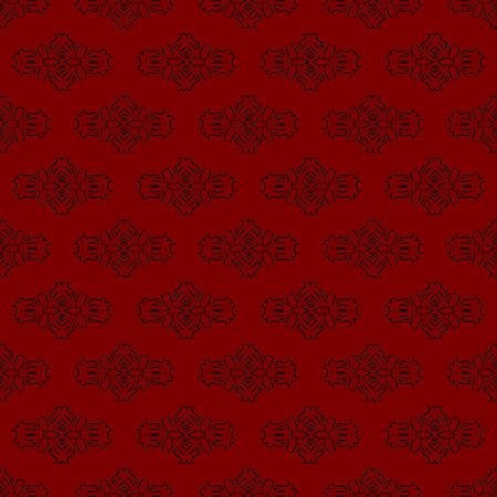 Red Seamless Pattern background. 向量圖像