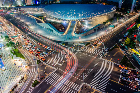 The new Dongdaemun Design Plaza in Seoul