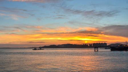 incheon: Sunset at incheon Island, South Korea
