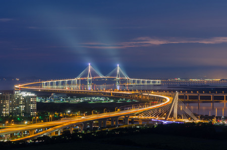 incheon: Incheon Bridge at Night (long exposure)