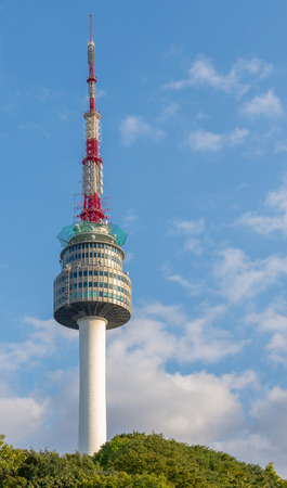 N Seoul Tower, or Namsan Tower in Seoul,South Korea