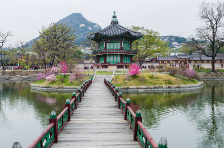 gyeongbokgung: Gyeongbokgung Palace  in Seoul,South Korea