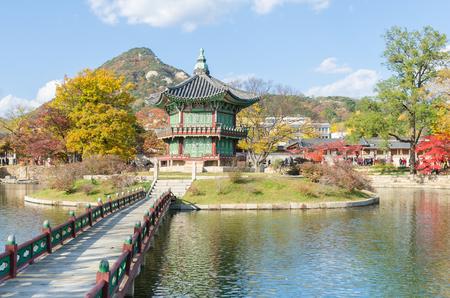 gyeongbokgung: Gyeongbokgung Palace in Seoul ,Korea Editorial