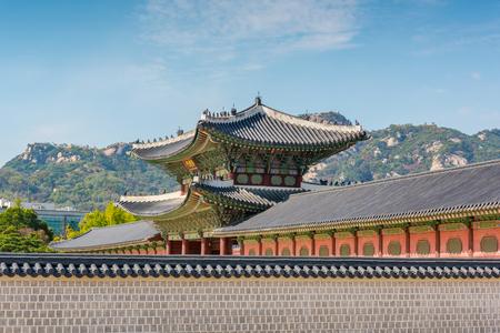 gyeongbokgung: Gyeongbokgung Palace in Seoul ,Korea. Editorial
