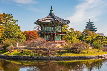 gyeongbokgung: Autumn of Gyeongbokgung Palace in Seoul ,Korea.