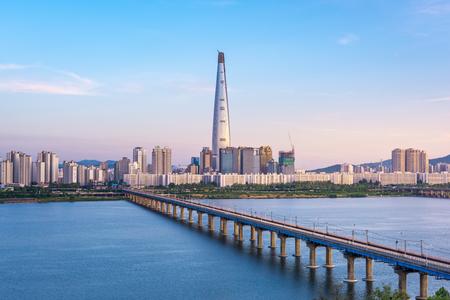 other keywords: Seoul Subway and Seoul City Skyline, South korea Editorial