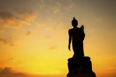 Big Bouddha dans le temple de l'espace public