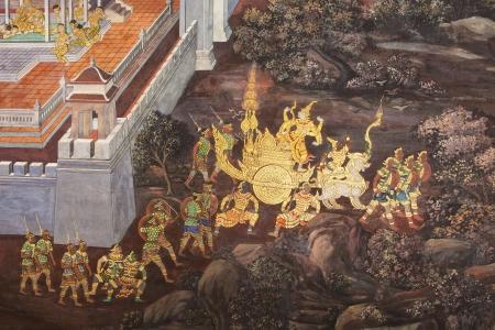 kaew: Murals at Wat Phra Kaew