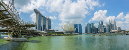 singapore city in the daytime sky.