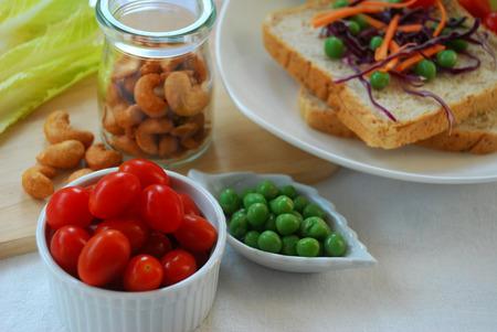 ingredient for cooking clean food or diet food even vegetarian food photo