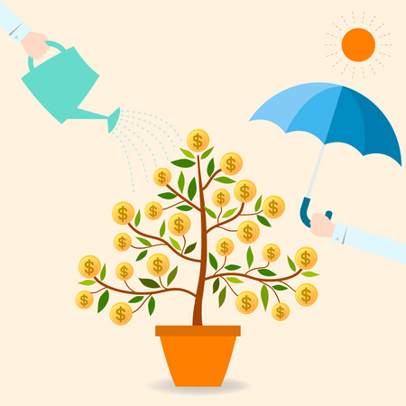 investment protection: When you protect and take care your funding. It will be grow up and good benefit for you. Illustration
