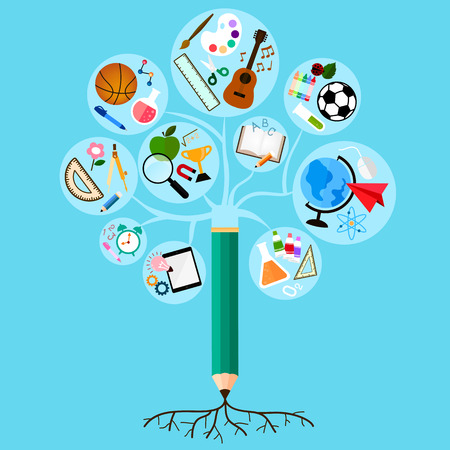 rooted: learning is deeply rooted and branched into many different subjects