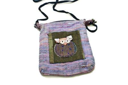 fabric bag: Fabric bag Embroidery is rats