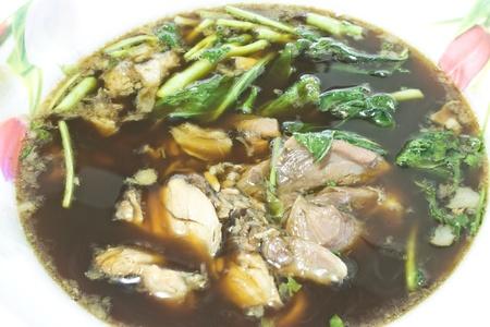 stewed: Pork stewed  Stock Photo