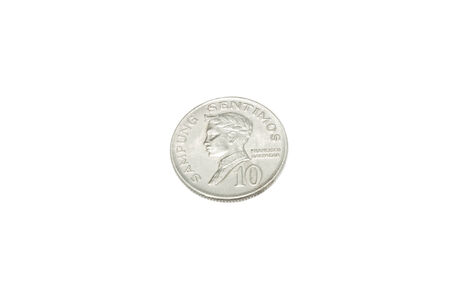 philippine: Old Coin of Philippine 1967 Stock Photo