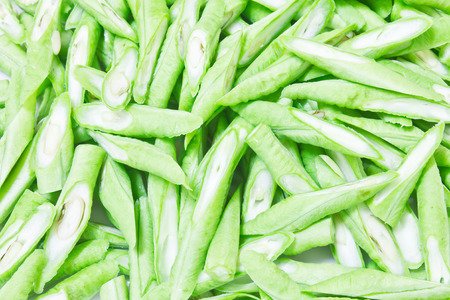 long bean: Chopped Yard long bean