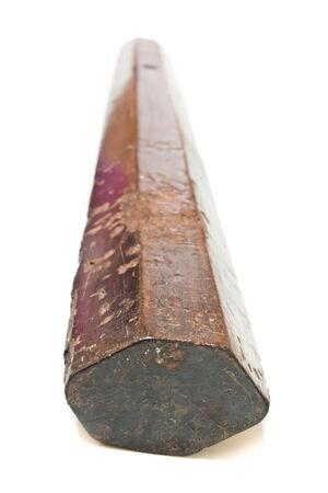 a cudgel: Wooden cudgel