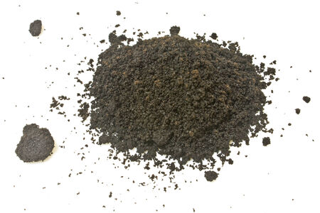 coffee grounds: Coffee grounds
