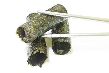 algas marinas: Algas frito Foto de archivo