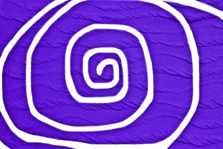 incorrect: Fabric background incorrect color draw swirl shape