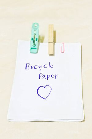 nip: Notes, Recycle Paper