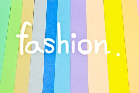 color paper: Fashion, Colorful Background, color paper Stock Photo