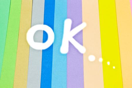 papier couleur: OK, Fond color�, papier de couleur