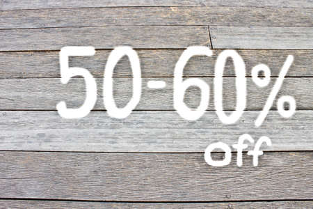 60: 50 to 60 percent discount