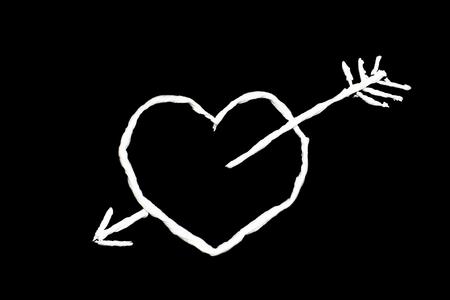 Tissue art , Heart shape photo
