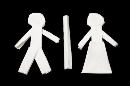 man vrouw symbool: