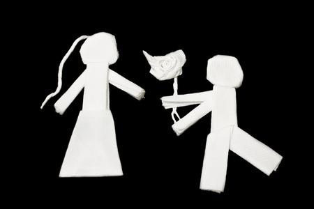 tissues: Art from tissues, love