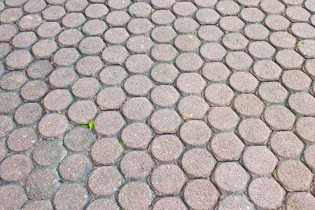 brick floor: Brick Floor  Foto de archivo