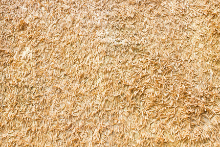 chaff: rice chaff Stock Photo