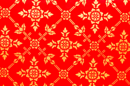 no name: Thailand pattern background in Temple, In Thailand public domain or treasure of Buddhism. no copyright, no name of artist appear.