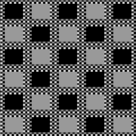 checkerboard backdrop: Checkerboard Black Background Vector