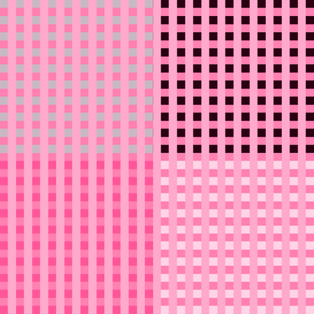 checkerboard backdrop: Checkerboard Pink Background Vector Illustration