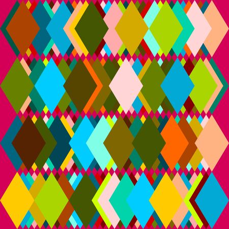 trapezoid: Colorful Trapezoid Background Vector Illustration