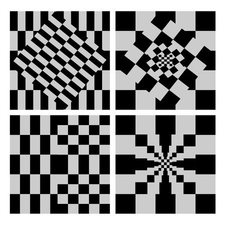 Checkerboard Background Vector