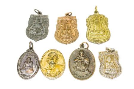 amulet: amulet isolated on white