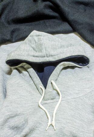 sweatshirt: Jersey con capucha, camiseta de la capilla Foto de archivo